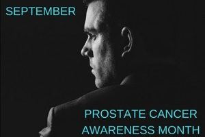 PROSTATE CANCER AWARENESS MONTH – 4 RISK FACTORS & 4 COMMON SYMPTOMS